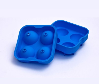SNYTER Blue Silicone Ice Ball Maker