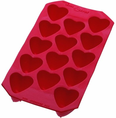 Lekue Red Silicone Ice Cube Tray