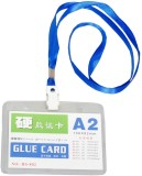statiO Plastic ID Badge Holder (Pack of ...
