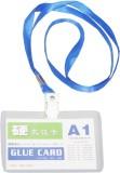 StatiO Plastic ID Badge Holder, Lanyard ...