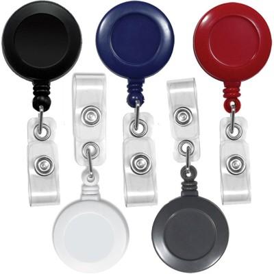 FINDSTUFF Plastic ID Badge Reel(Pack of 5)