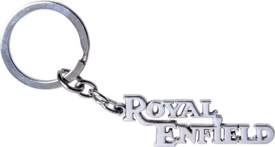 Prime Traders Royal Enfield Emblem Car Logo Locking Key Chain