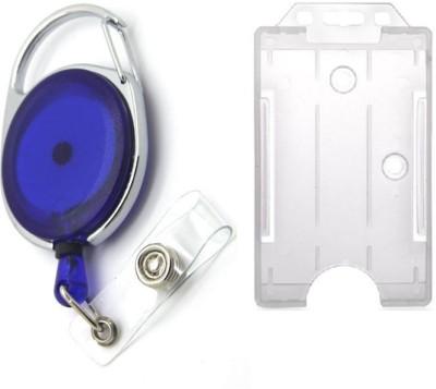 FINDSTUFF Plastic ID Badge Holder(Pack of 2)