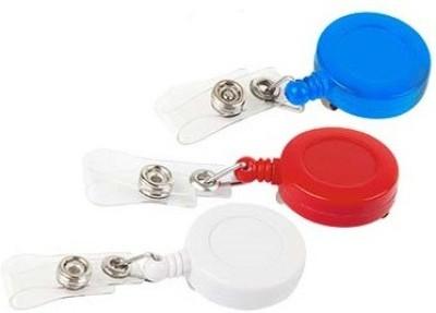 FINDSTUFF Plastic ID Badge Reel(Pack of 3)