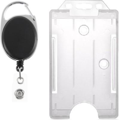 BOX 18 Plastic ID Badge Holder(Pack of 2)