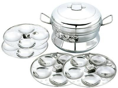 Rituraj Idly pot big with 4 plates stainless steel Standard Idli Maker(4 Plates , 18 Idlis )
