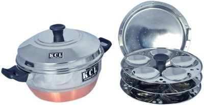 KCL Copper 15 Standard Idli Maker(4 Plates )