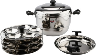 Embassy ID Pot with Plates (20 Idlis) Induction & Standard Idli Maker