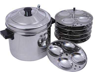 Tallboy SS Murgan Cooker 6 plates Induct...