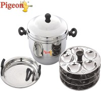 Pigeon Induction & Standard Idli Maker(4 Plates , 20 Idlis )