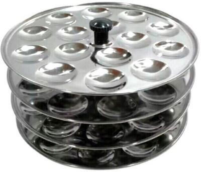 Rituraj Mini idly stand with 4 plates Stainless steel Standard Idli Maker(4 Plates , 60 Idlis )