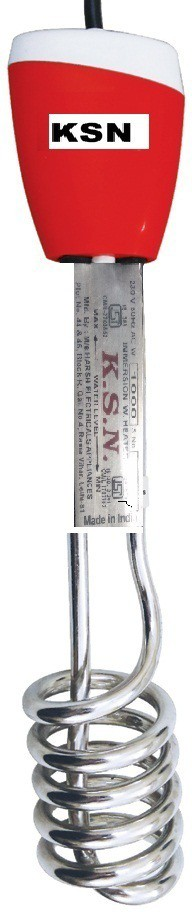 KSN ISI marked RED Epoxy 1500w 1500 W Immersion Heater Rod(Water Proof / Shocked Free)