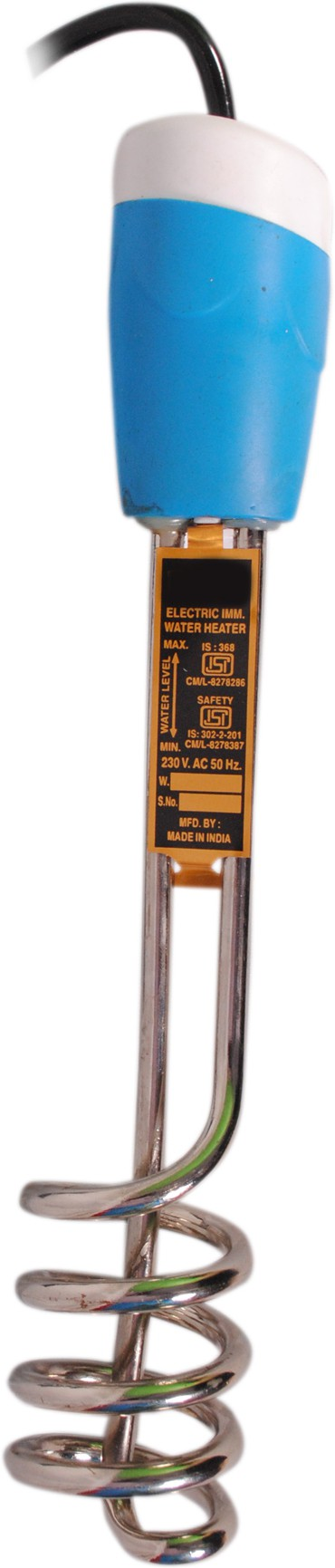 View Wi Retail Aqua 1500 W Immersion Heater Rod(Water) Home Appliances Price Online(Wi Retail)
