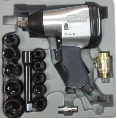 Sumake St-5540k Pneumatic Tool Air Impact Wrench Kit (17 Pcs)