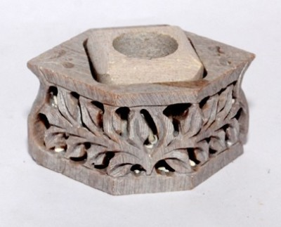 Shoppers Beach Stoneware Incense Holder