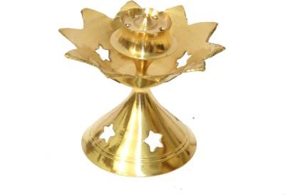 SKM Jhaali Brass Incense Holder