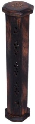 Onlineshoppee Wooden Incense Holder(Brown, Pack of 1)