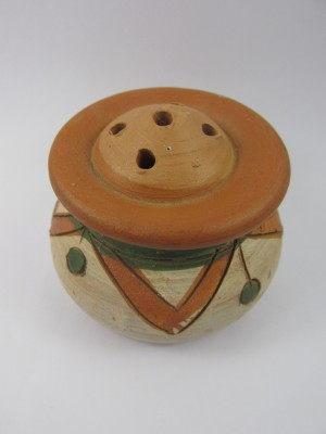 N9S HC TC NA S AS 101 Terracotta Incense Holder