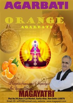 Magayatri Agarbati Orange Incense Sticks