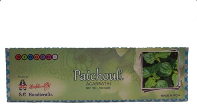 S C Handicrafts Patchouli Agarbathi Patchouli Incense Sticks