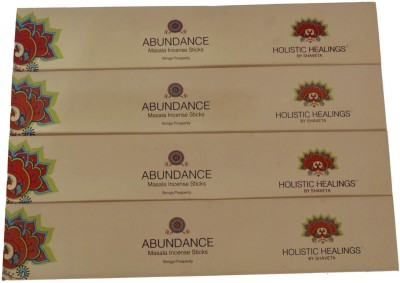 Holistic Healing By Shaveta ABUNDANCE NATURAL Incense Sticks