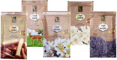 Zed Black Different Fragrances Regal Sandal,Regal Champa,Regal Jasmine,Regal Musk,Regal Lavender Combo of 5 Premium Incense Sticks