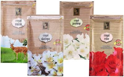Zed Black Different Fragrances Regal Rose,Regal Champa,Regal Jasmine,Regal Musk Combo of 4 Premium Incense Sticks