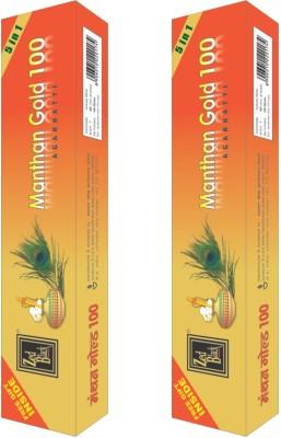 Zed Black Manthan Gold 5 in 1 Incense Sticks