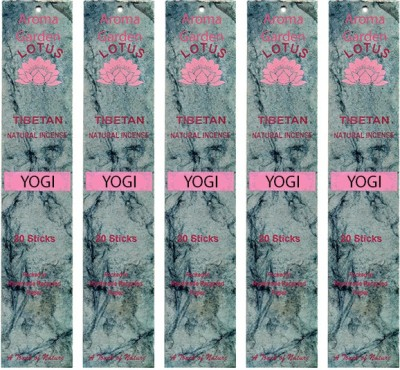 Aromagarden YOGI, VANILLA AND CEDARWOOD, LIGHT SWEET NOTES Incense Sticks
