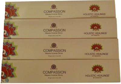 Holistic Healing By Shaveta COMPASSION ROSE Incense Sticks