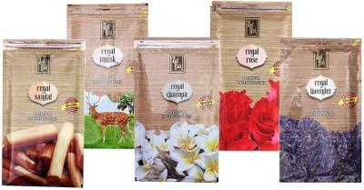 Zed Black Different Fragrances Regal Rose,Regal Sandal,Regal Champa,Regal Musk,Regal Lavender Combo of 5 Premium Incense Sticks