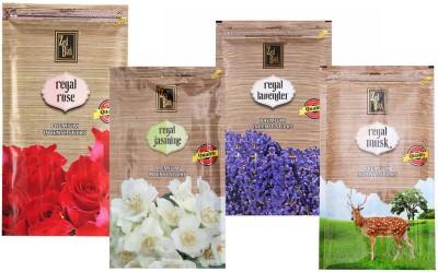 Zed Black Different Fragrances Regal Rose,Regal Jasmine,Regal Musk,Regal Lavender Combo of 4 Premium Incense Sticks