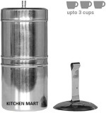 Kitchen Mart South Indian Style 3 Cups I...