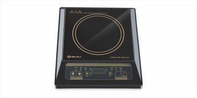 Bajaj Smart Induction Cooktop(Black, Push Button)