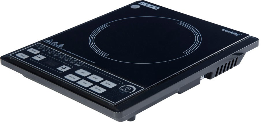 Usha 3616 Induction Cooktop(Black, Push Button)