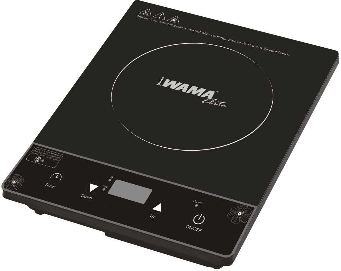 Wama WMIC05 Induction Cooktop(Black, Push Button)