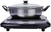 Pigeon RAPID ECO-LX Induction Cooktop(Black, Push Button, Touch Panel)