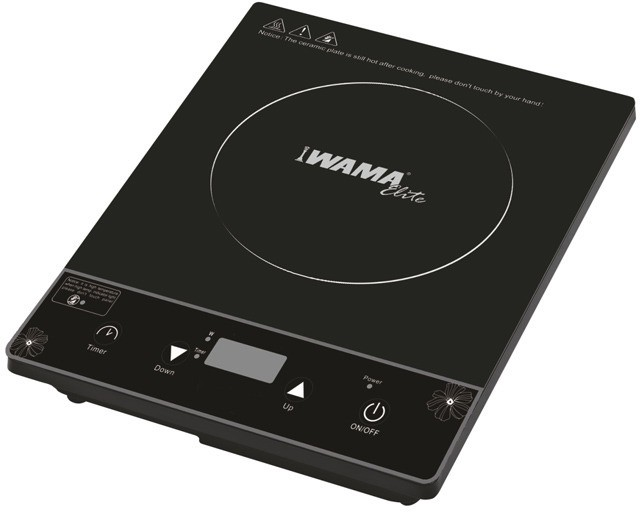 Wama Vessel Elite WMIC05 Induction Cooktop(Black, Push Button)