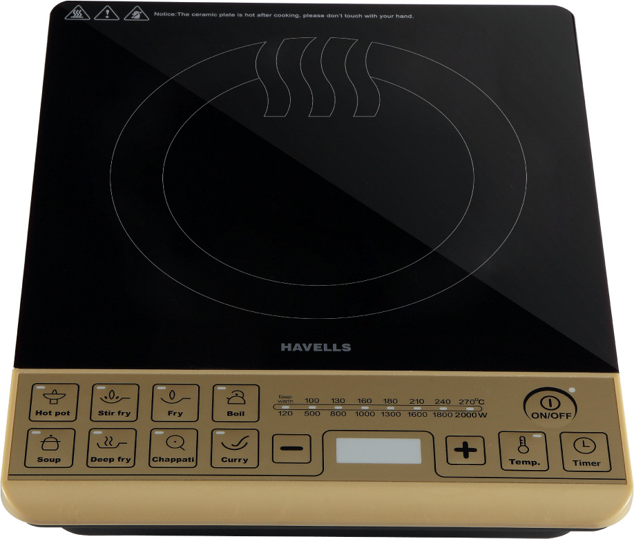 Havells ST-X Induction Cooktop(Touch Panel)