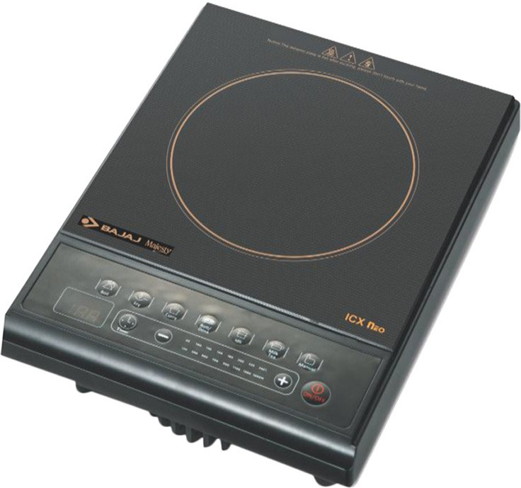 Bajaj ICX NEO Induction Cooktop(Black, Push Button)