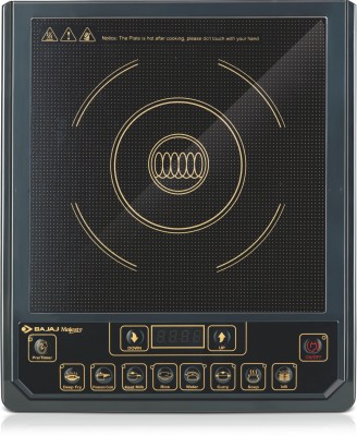 Bajaj Majesty ICX 3 Induction Cooktop(Black, Push Button)