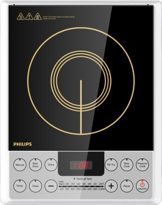 Philips HD4929/01 Induction Cooktop(Black, Push Button)