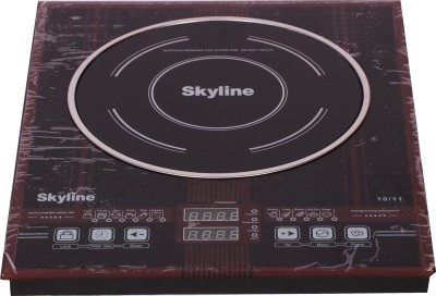 Skyline VI-5050-FT Induction Cooktop(Maroon, Touch Panel)