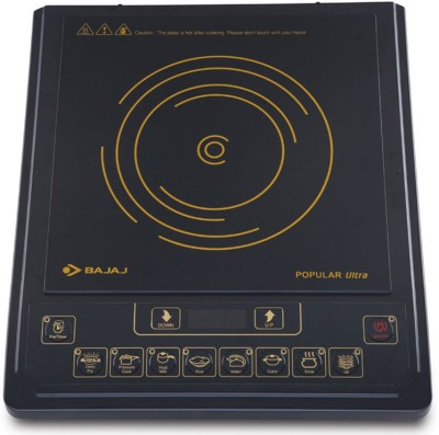 Bajaj 1 Induction Cooktop(Black, Push Button)
