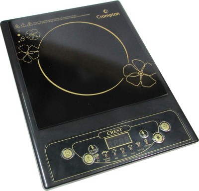 Crompton Acgic-Crest Induction Cooktop(Black, Push Button)