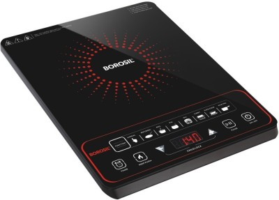 Borosil BIC20TC22 Induction Cooktop(Black, Push Button)