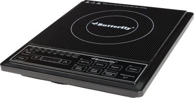 Butterfly Platinum - G2 Induction Cooktop(Black, Push Button)