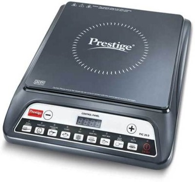 Prestige PIC 20.0 Induction Cooktop(Black, Touch Panel)