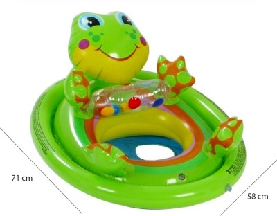 Intex See-Me-Sit Pool Float Inflatable Pool F, Pool Accessories(Green)