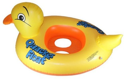 Divinext Baby Duck Shape Inflatable Water Games